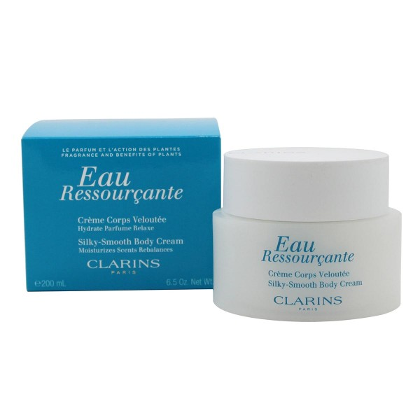 Clarins eau ressourçante silky smooth body cream 200ml